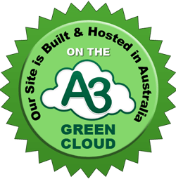 Green Cloud Hosting Emblem