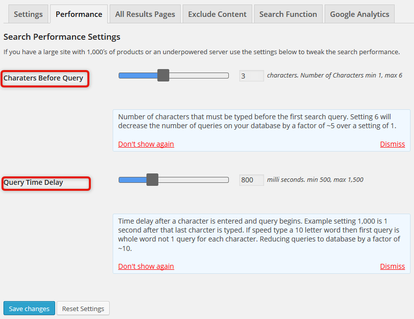 new ps performance setting