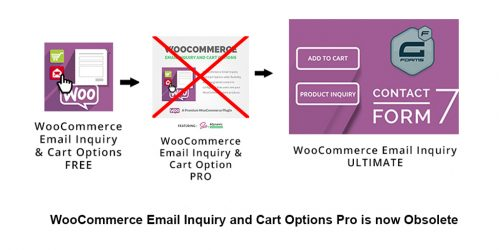 Free Upgrade to WooCommerce Email Inquiry Ultimate